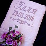 Крестильное полотенце с именем, фото 2