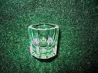 Стаканчик стеклянный (рюмка) для ликвида, для хны