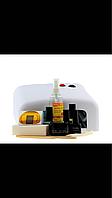 Стартовый набор для наращивания ногтей гелем с УФ лампой 36 Вт