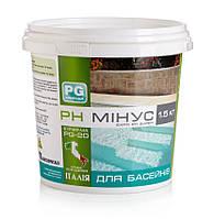 Хімія для басейну PG chemicals, PG-25 рН плюс 1 кг, порошок