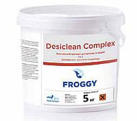 Хімія для басейнів Froggy Desiclean Complex 3в1 5 кг - Комплексний препарат 3 в 1 для тривалої дезінфекції