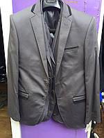 Пиджак мужской, серый , Размер 46-56