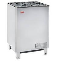 HELO SKLE 1201 хром - Комерційна електрокам'янка (12 kW, 10 - 18 м. куб., 60 кг каменів)