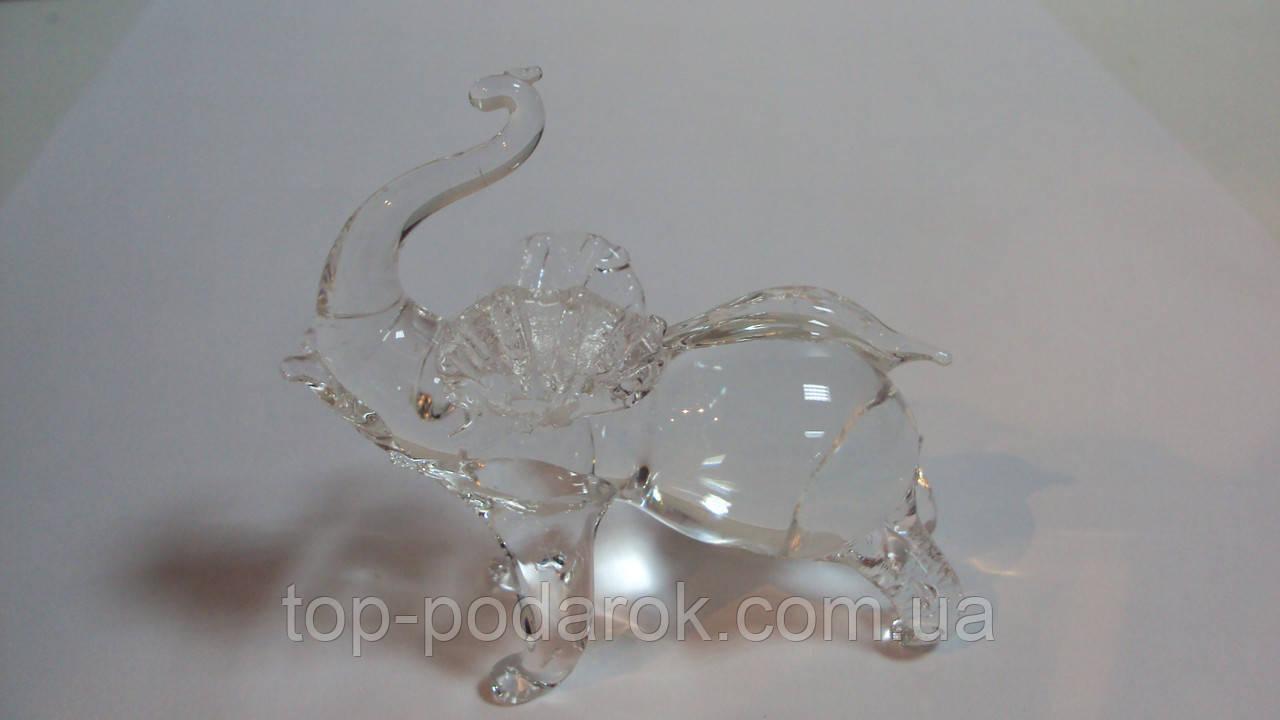 Слон хрустальный 3 см