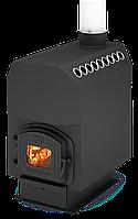 Опалювальна піч Теплодар - ТОП 300 (з чавунної дверцятами) (180-300 м. куб)