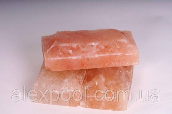 Гималайская розовая соль, «рваный камень» 20х10х5см