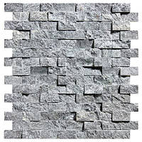 Мозаїка талькомагн. Tulikivi 280х300х8-14мм (сколот поверх-ть) для обробки саун
