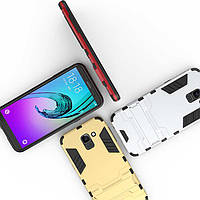 PC + TPU чехол Metal Armor для Samsung Galaxy J6 2018 (7 цветов)