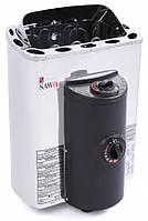 Электрическая печь Sawo MINI X MX-36 NB (3.6 кВт, 3-6 м3, 220/380 В ), со встр. пультом управле