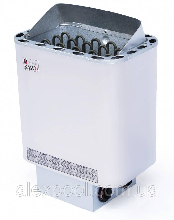 Электрическая печь Sawo NORDEX NR 45 NBB(4.5 кВт, 3-6 м3, 220/380 В ), со встроенным пультом управления