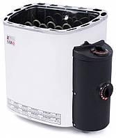 Электрическая печь Sawo SCANDIA SCA 45 NB (4.5 кВт, 3-6 м3, 220/380 В ), со встроенным пультом управления