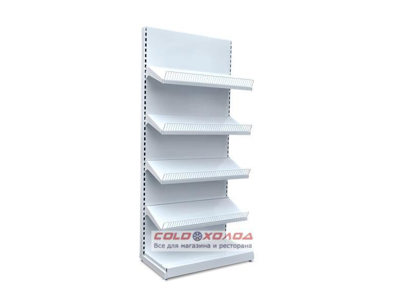 Стеллаж кондитерский торговый с полками под коробки для магазина