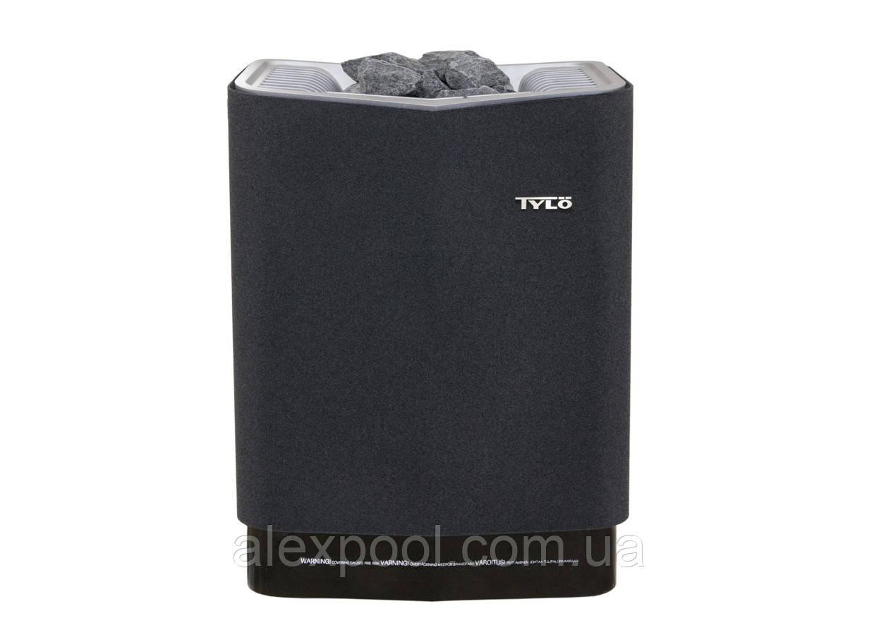 Электрокаменка TYLO Sense Sport 8 (6-12 м3, 8 кВт, 12 кг камней 220/380 В) встроенная панель управления