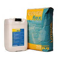 Litokol COVERFLEX A+B (20 кг+10 кг) 30 кг - Двухкомпонентная эластичная гидроизоляция (CVF0020/CVF0010)