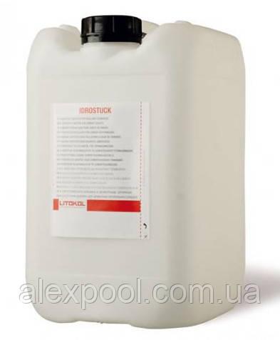 Litokol IDROSTUK 20 кг Добавка эластичная латексная для цементных затирочных смесей  ( IDR0020 )