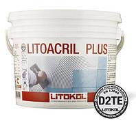 Litokol LITOACRIL PLUS 1 кг Дисперсионный акриловый клей белого цвета для керамической плитки