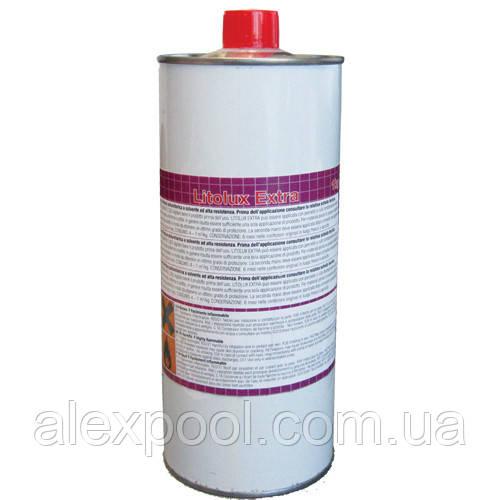 Litokol LITOLUX EXTRA - финишное полиуретановое покрытие, в т.ч. для влажных помещений 1 л ( LLUXXTR0001 )