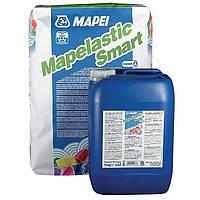 Mapei MAPELASTIC SMART - Эластичная гидроизоляция, высокая трещиностойкость (A+B, 30 кг )