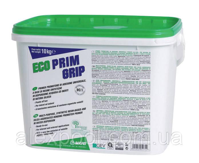 Mapei ECO PRIM GRIP - универсальная грунтовка на основе акриловых смол и инертного кремнезема (5 кг)