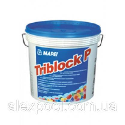 Mapei TRIBLOCK P компл. - трёхкомпонентный грунтовочный состав на основе эпоксидной смолы и цемента (5 кг)