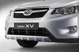 Защитная накладка переднего бампера Subaru XV Оригинал (E555EFJ100)