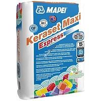 Mapei Keraset Maxi Express - Клей быстротвердеющий для приклеивания керамической плитки, керамогранита (25 кг)