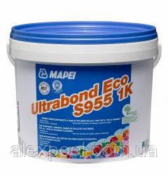 Mapei ULTRABOND ECO S955 1K - однокомпонентный эластичный клей для всех типов паркета (15 кг )