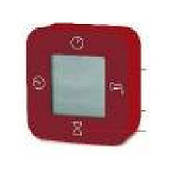 ЛОТТОРП Часы / термометр / будильник / таймер, красный, 902517582, ИКЕА, IKEA, LÖTTORP