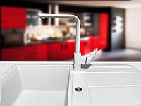 Смеситель для кухонной гранитной мойки  GF Italy DX белый «ВСЕ ЦВЕТА»