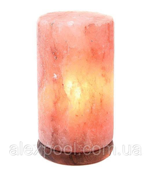 Гималайская розовая соль Светильник Цилиндр