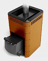 Термофор КАРАСУК 18 Терракота - Дровяная печь для бани (8-18 м. куб., 60 кг камней)