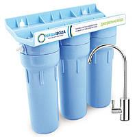 Проточний фільтр НАША ВОДА «Джерельна Вода 3» - система доочистки водопровідної води (FMV3NV)