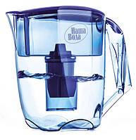 Фільтр-глечик для очищення води Наша Вода Luna Синій - загальний об'єм 3,5 л ( FMVLUNAB )