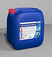 PoolEx РН мінус кислотний реагент для зниження рівня РН в плавальних басейнах 30 л (42 кг)