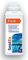 SeptEx Flock - рідкий коагулянт (флокулянт) для усунення каламутності води, 1 л