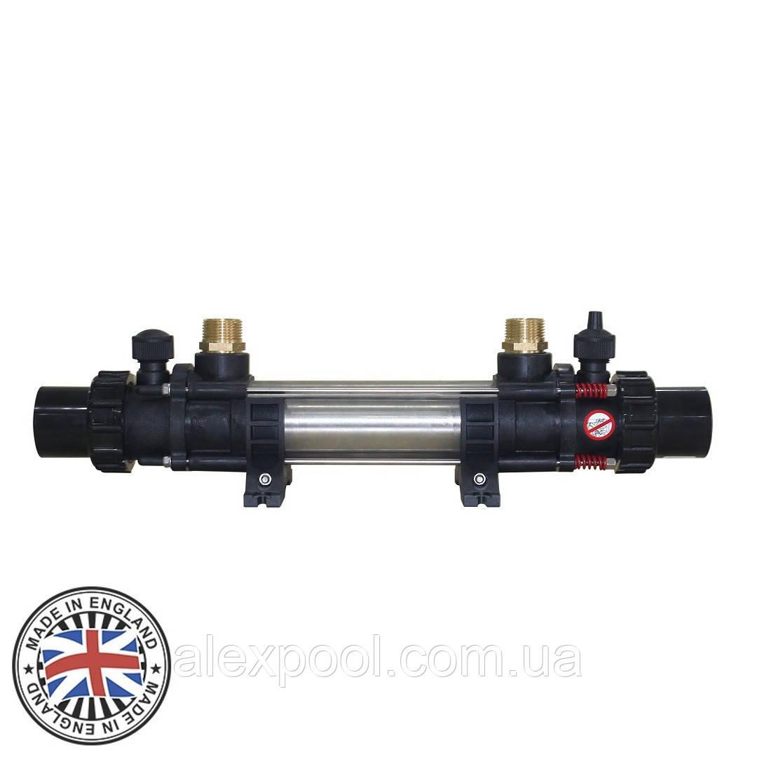 Теплообменник Elecro G2I 122 kw HE 122 Incoloy+316L (трубчатый, 4 bar)