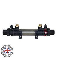 Теплообменник Elecro G2I 122 kw HE 122 Incoloy+316L (трубчатый, 4 bar), фото 1