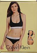 Жіночий набір спортивного білизни топ + стрінги