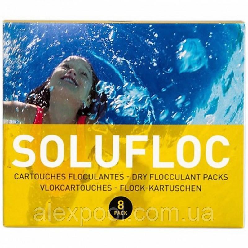 Химия для бассейна Melpool (Melspring) Solufloc - Картриджи для удаления нефильтруемых примесей, 1 кг