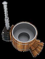 Thermal SPA ТМ HOTTUB - SPA на дровах - СПА Нержавеющая сталь, Нержавеющая сталь/термососна