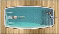 Композитний керамічний басейн Luxe Pools Nakuru - Розмір 7х3.3х1.5м, фото 1