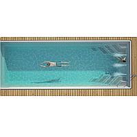 Композитний керамічний басейн Luxe Pools WANAKA 1000 - Розмір 10х3.7х1.5м