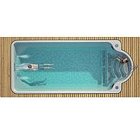 Композитний керамічний басейн Luxe Pools GARDA 800 - Розмір 7.65х3.7х1.5м