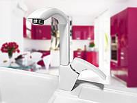 Смеситель для кухонной гранитной мойки  CLIO DX белый «ВСЕ ЦВЕТА»