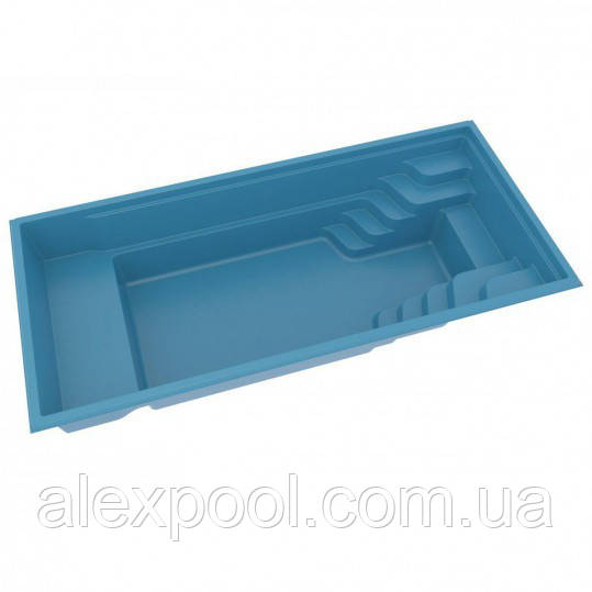 Композитний керамічний басейн COMPASS POOLS XL-TRAINER 72 FB - 7,21 X 3,30 X 1,51 М