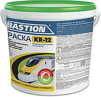 Краска MAV BASTION KR-12 водно-дисперсионная по металлу Белая RAL 9003 11 литров
