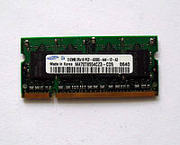 318 Память SO-DIMM 512 MB DDR2-533 PC2-4200 Samsung для ноутбуков AMD/Intel, фото 1