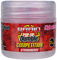 Бойлы Brain Dumble Pop-Up Competition Strawberry 11 mm 20 g