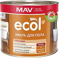 Емаль MAV ECOL для підлоги ПФ-266 Жовто-коричнева 2,4 літра