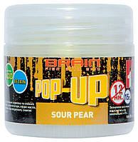 Бойлы Brain Pop-Up F1 Sour Pear (груша) 12 mm 15 g